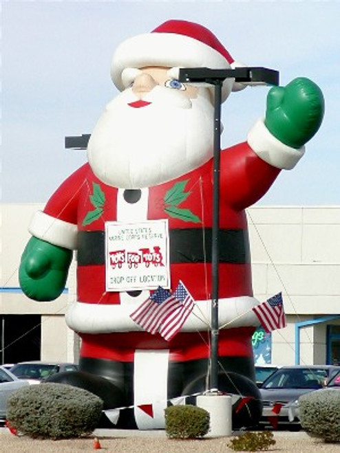 20ft Santa Balloon