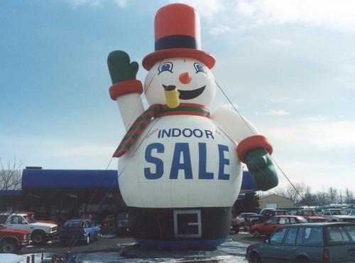 20ft Snowman Balloon