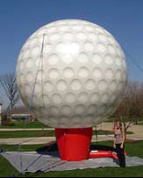 20ft Golf Ball Balloon