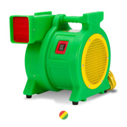 "Blower 115V Cycle 60Hz Max Static Pressure 9.8"" Weight Net 34 LBS Size (LxWxH) 18"" x 13.5"" x 17"" Wheel Speed (RPM) 3460 Attached Cord 25' Available Colors Green"