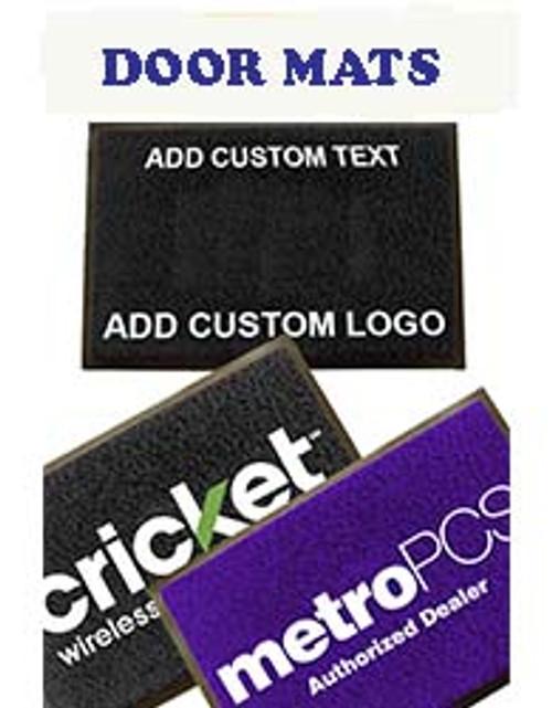 Custom Door Mats With Your Message or Logo
