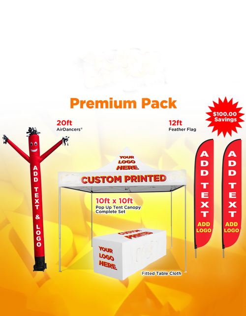 Advertising Custom Premium Pack