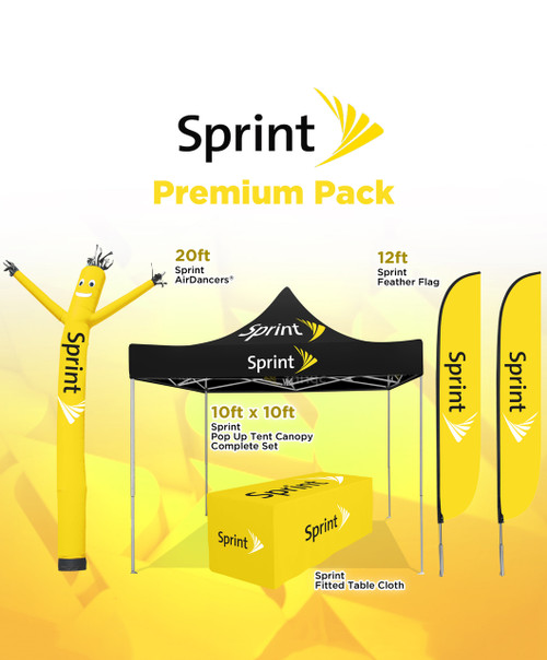 Sprint Premium Package Outdoor Advertising and Inflatable