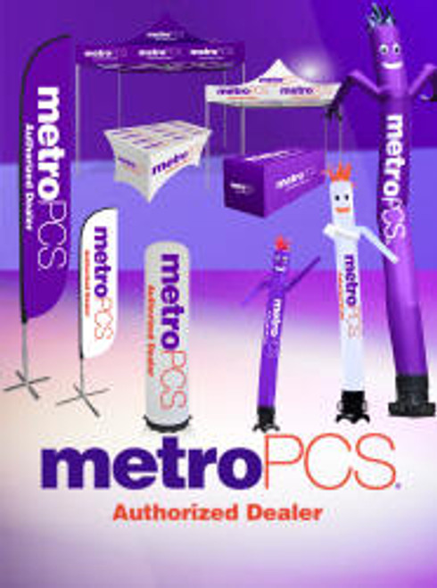 MetroPCS Premium Package Outdoor Advertising and Inflatable