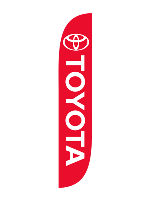 12ft Toyota Feather Flag