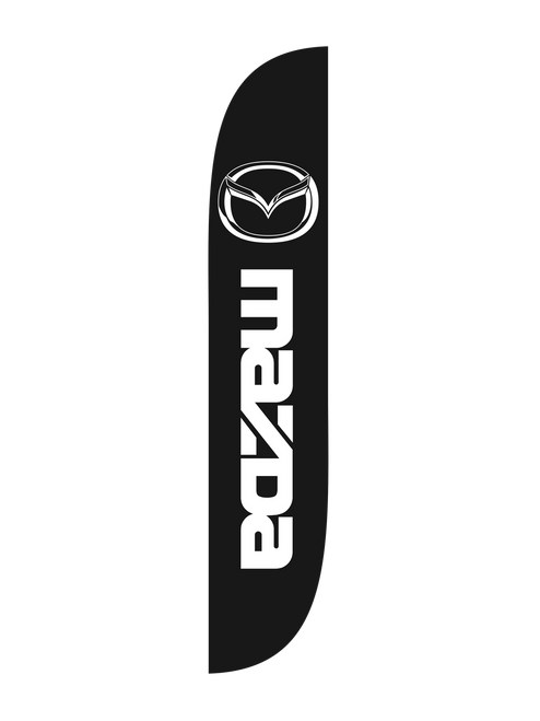 12ft Mazda Feather Flag