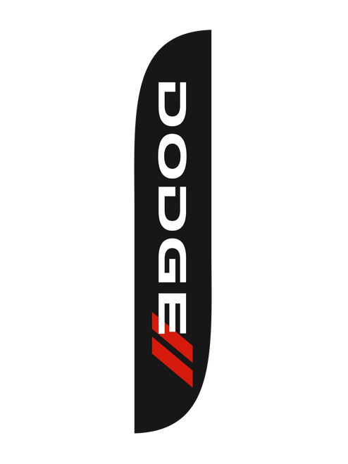 12ft Dodge Feather Flag