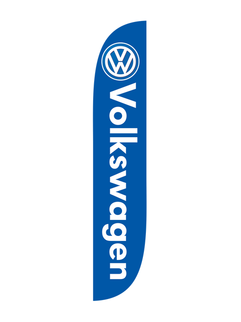 12ft Volkswagen Feather Flag