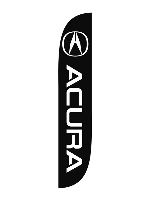 12ft Acura Feather Flag