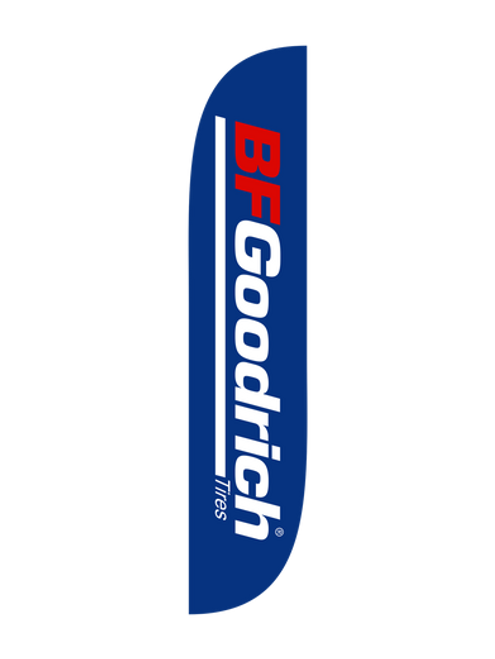 BF Goodrich Tires Feather Flag