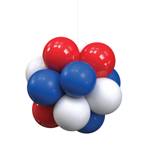 Indoor 12 Balloon Cluster Kit