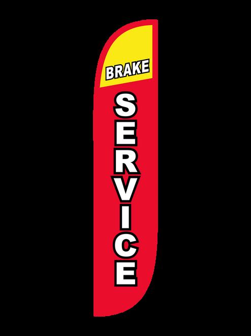 Brake Service Feather Flag