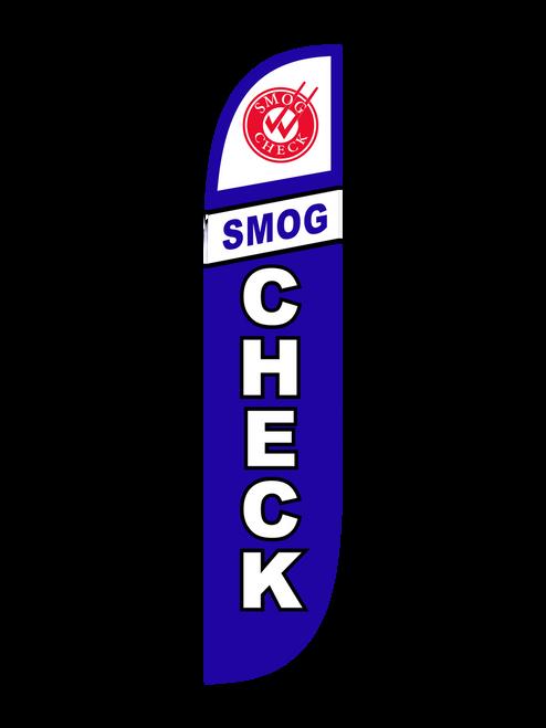 Smog Check Feather Flag