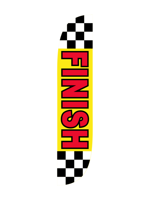 Finish Feather Flag