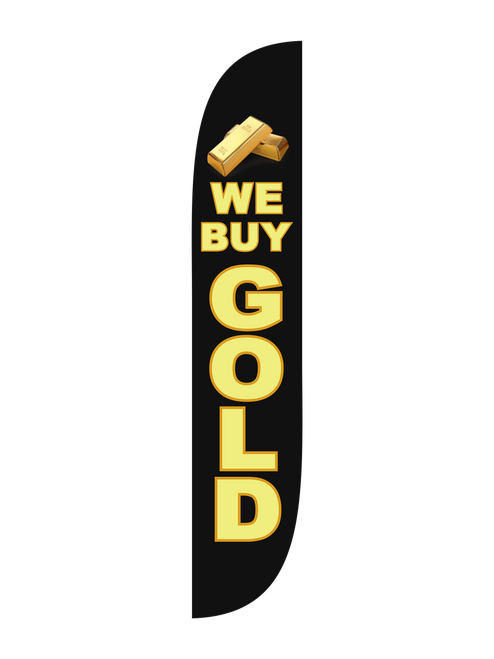 We Buy Gold Flag
