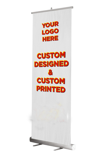 Economy Retractable Pull Up Banner