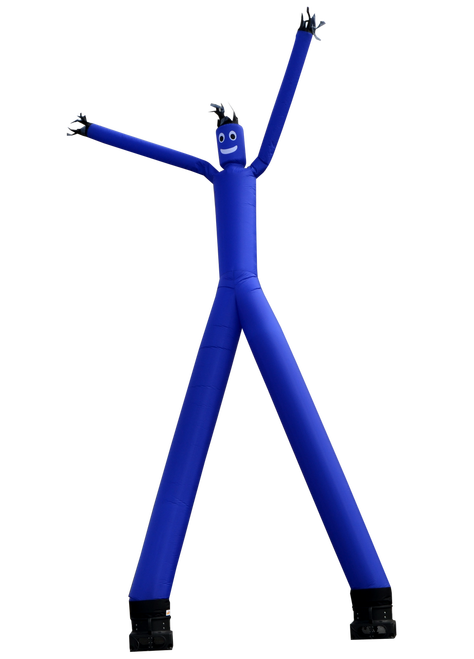 Two Legged Blue Air Dancer