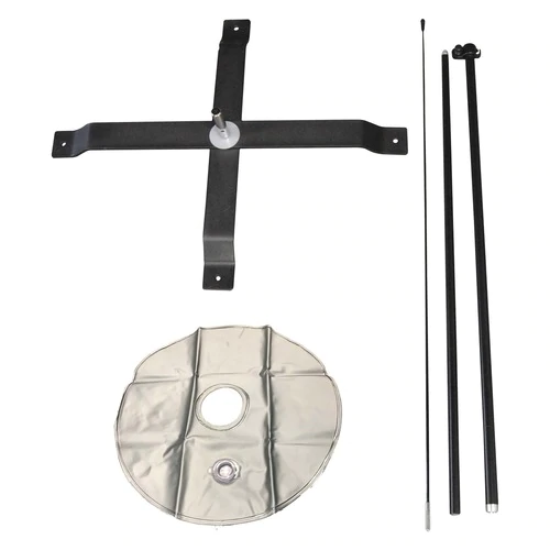 5ft SMALL FEATHER FLAG X STAND POLE SET WITH WATER BAG