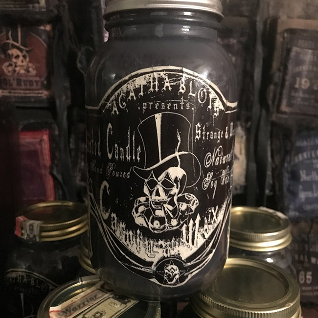 Black Amber Double Wick 32 oz Scented Candle