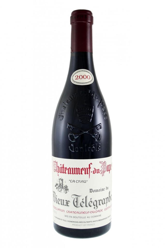 Chateauneuf Du Pape Vieux Telegraphe La Crau 2000