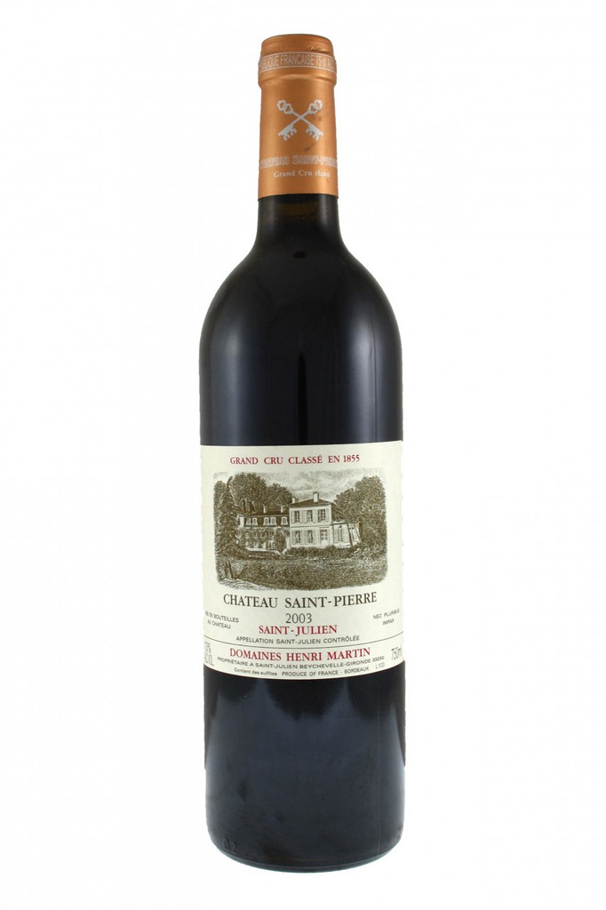 Chateau Saint Pierre 2003