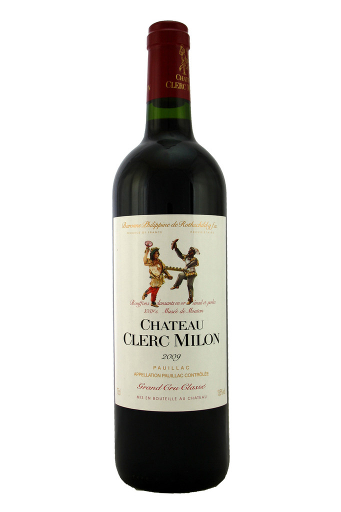 Chateau Clerc Milon 2009