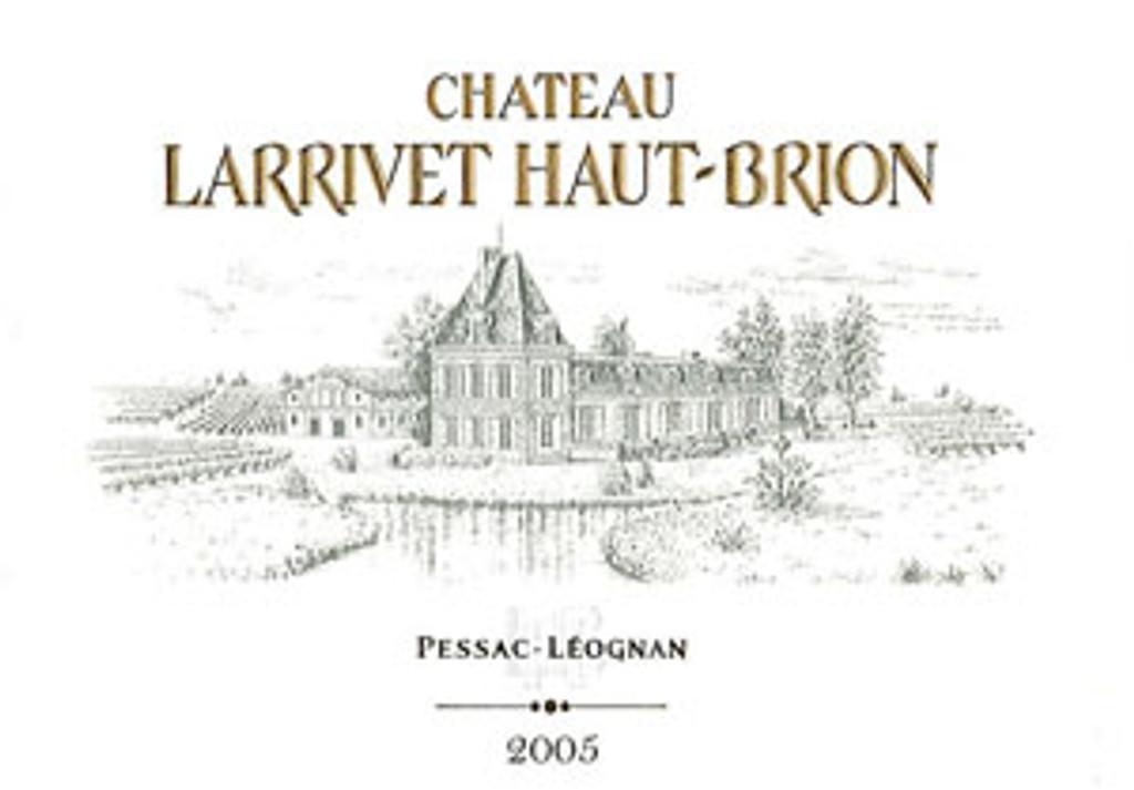 Chateau Larrivet Haut Brion 2009