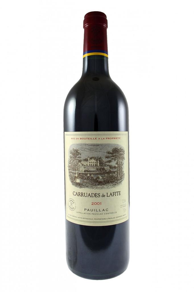 Les Carruades De Lafite, Pauillac, Bordeaux, 2001