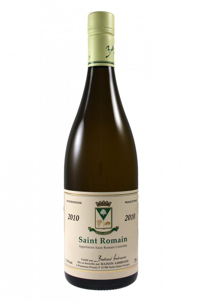 Saint Romain Blanc Bertrand Ambroise 2010