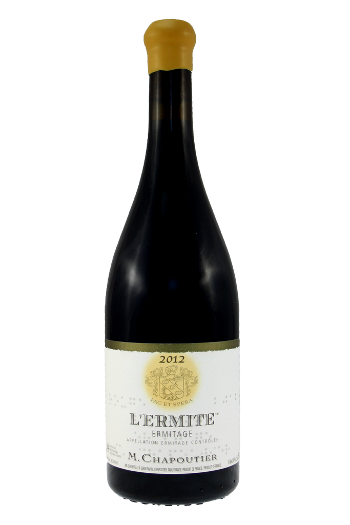 Ermitage Rouge 'L'Ermite',  Hermitage, Northern Rhone, France, M Chapoutier 2012