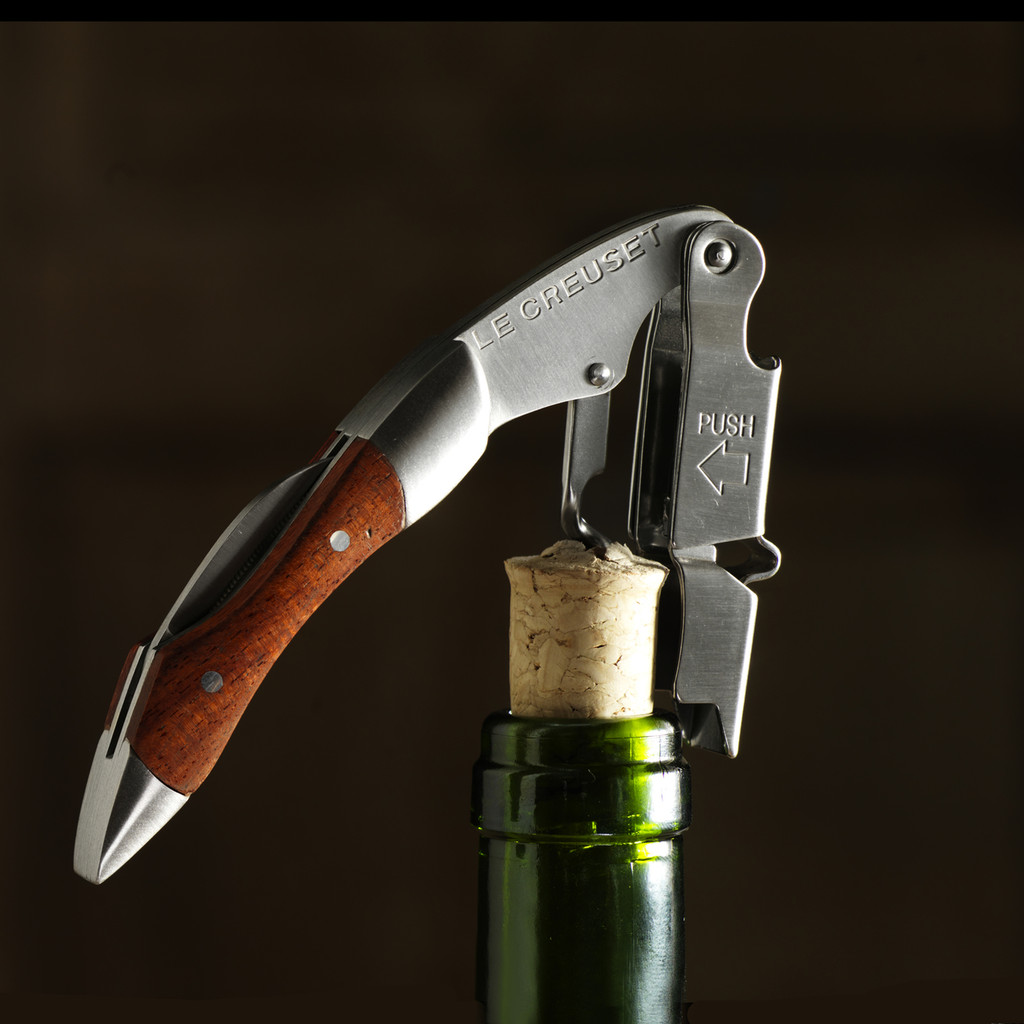 Waiters Wooden Cork Screw by Le Creuset WT110W