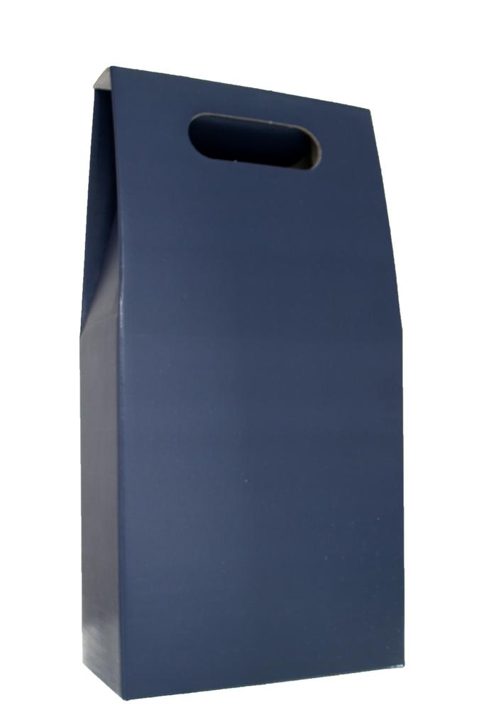 2 Bottle Gift Box Slate Blue