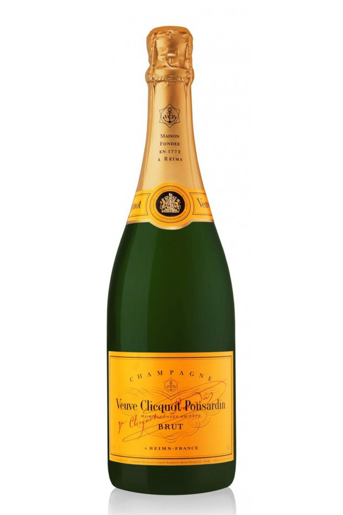 Veuve Clicquot Yellow Label Brut Champagne (Free Gift Box)