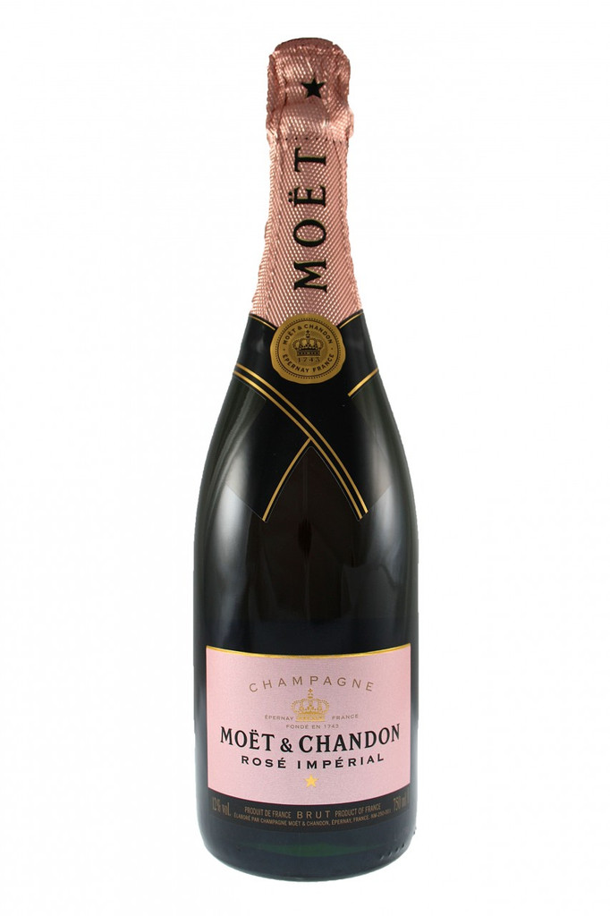 Moet and Chandon Brut Rose Imperial Non Vintage Champagne