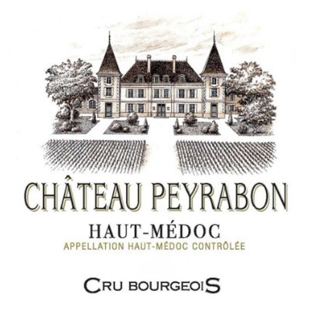 Château Peyrabon,  Cru Bourgeois, Haut Medoc, Bordeaux France, 2014