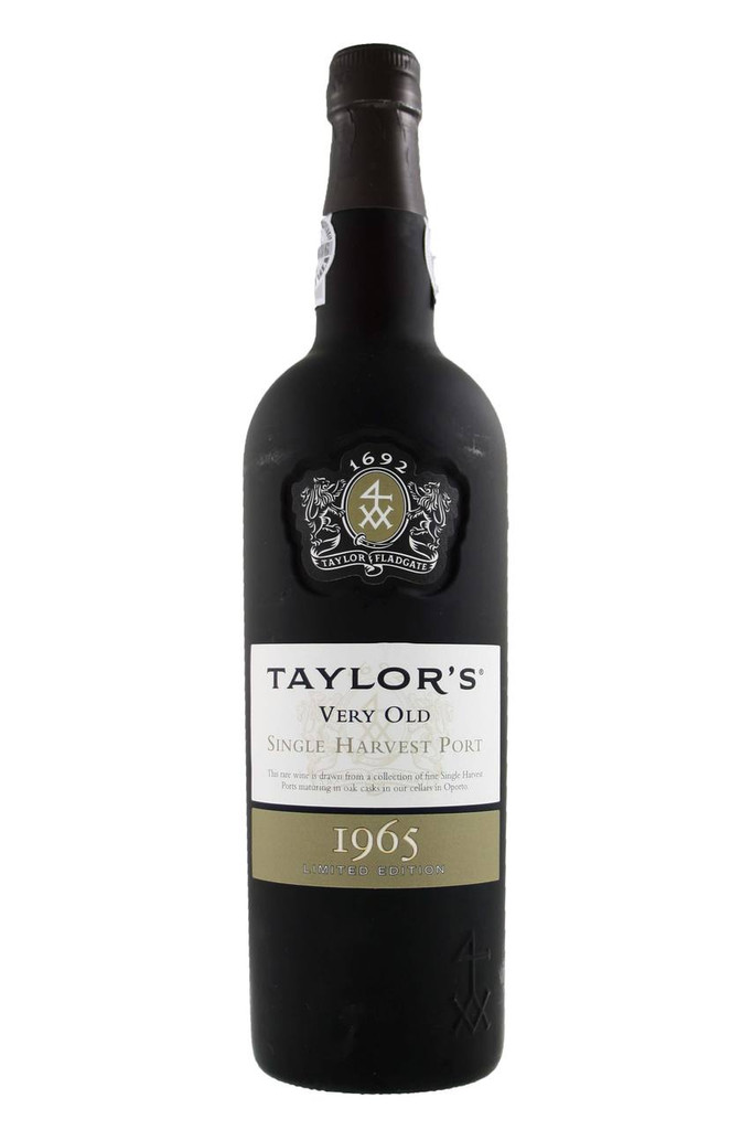 Taylors Very Old Single Harvest Port 1965