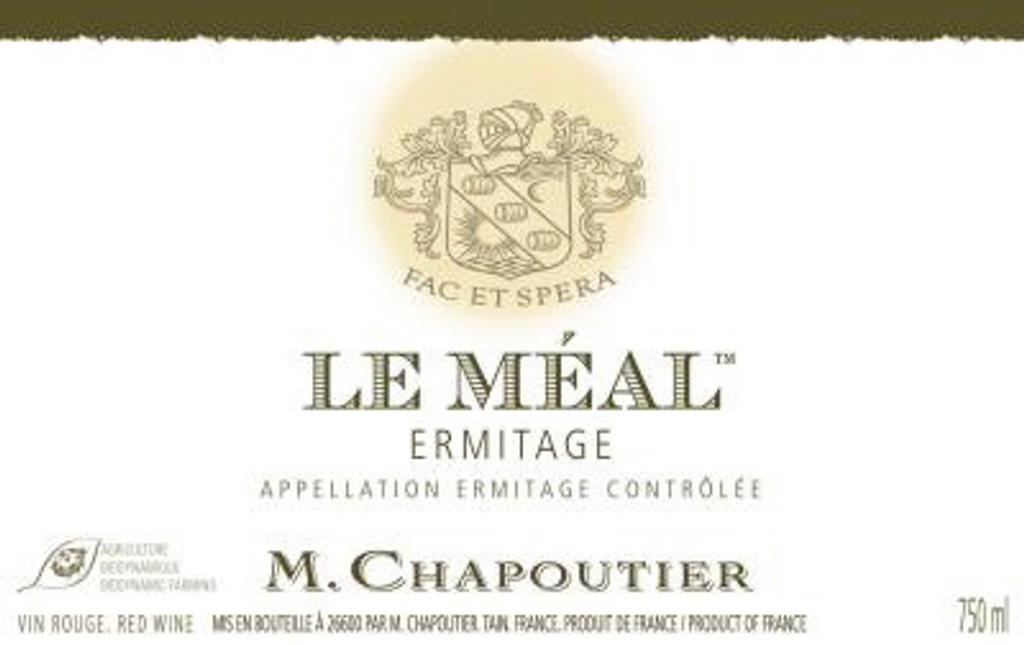 Ermitage Rouge 'Le Méal', M Chapoutier, Hermitage, Northern Rhone, France, 2014