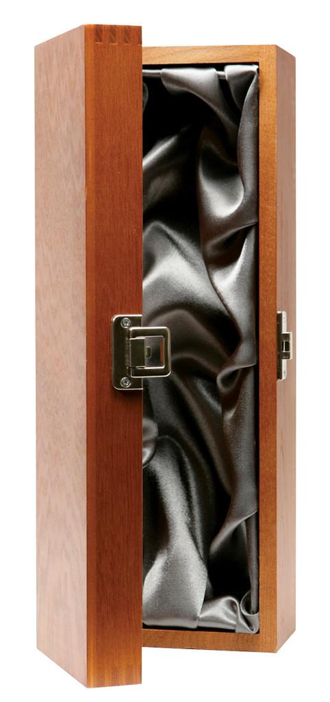 Magnum Wooden Wine Presentation Box Box Silk Lined