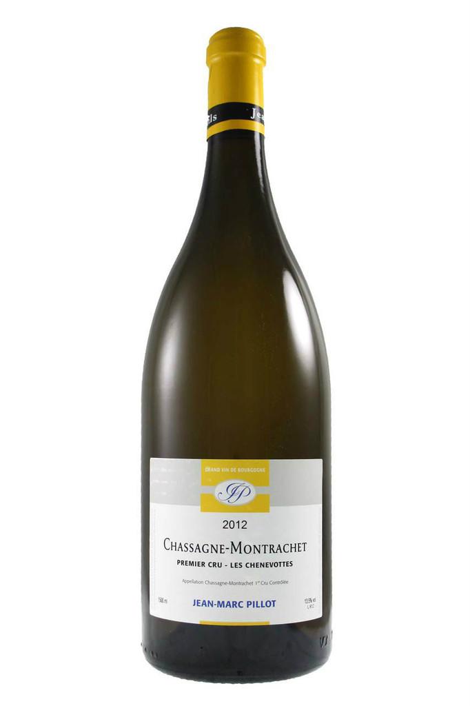 Chassagne Montrachet 1er Cru Chenevottes Jean Marc Pillot Magnum 2012