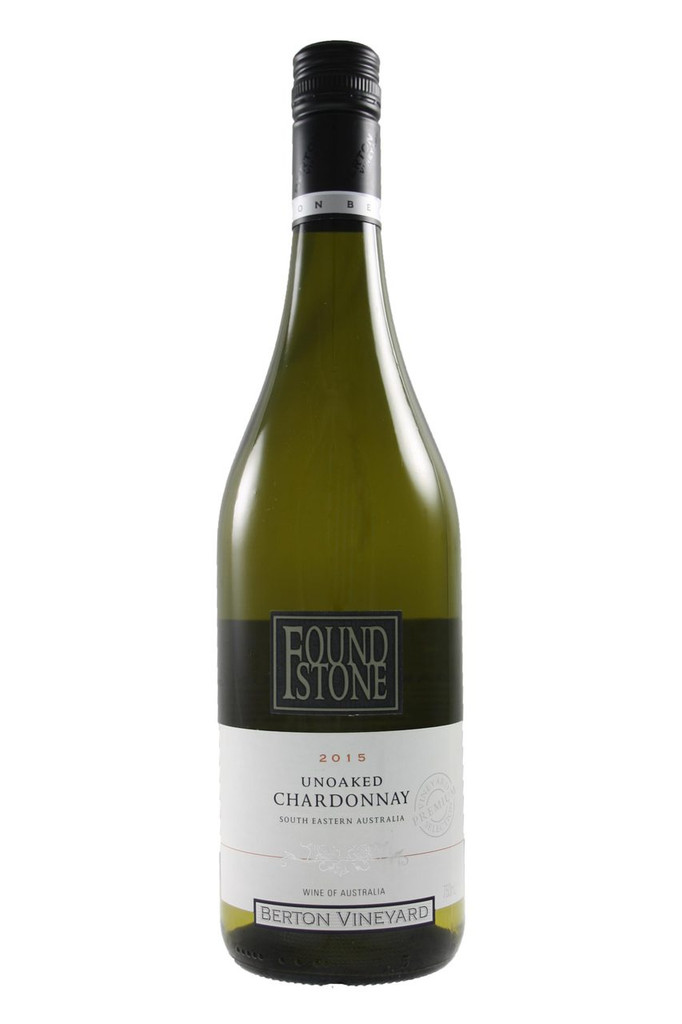 Unoaked Chardonnay Foundstone 2015