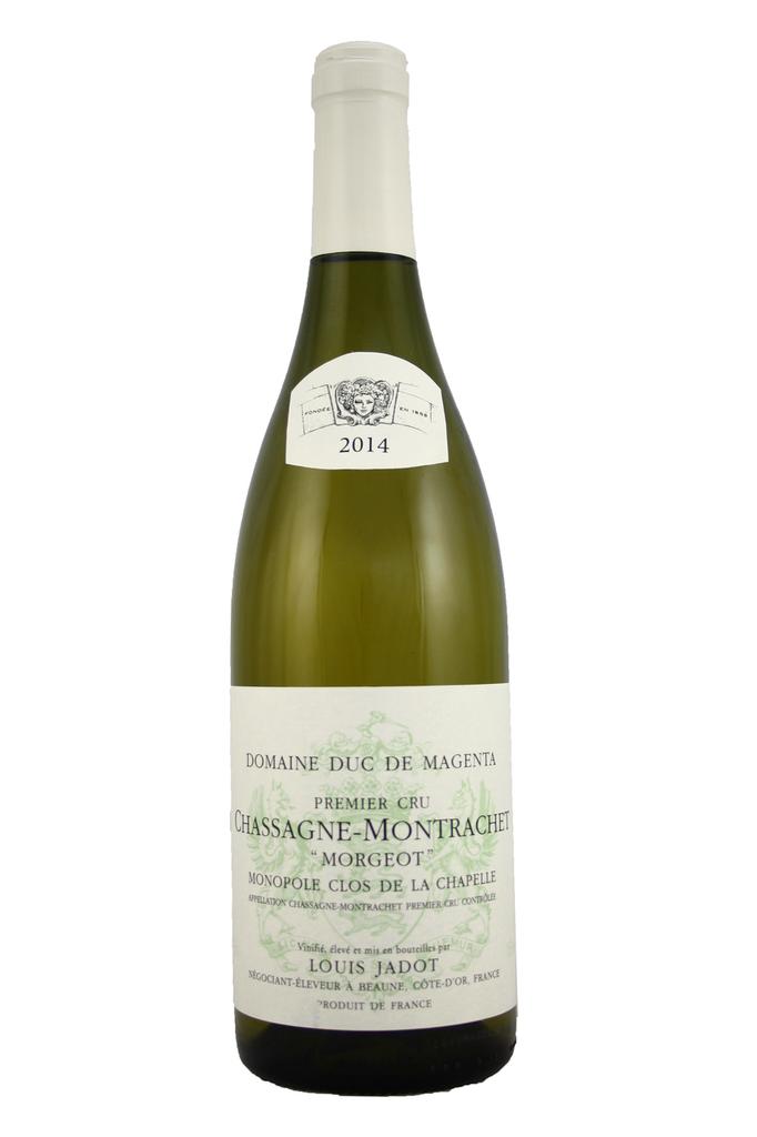 Chassagne Montrachet 1er Cru Morgeot Louis Jadot 2014