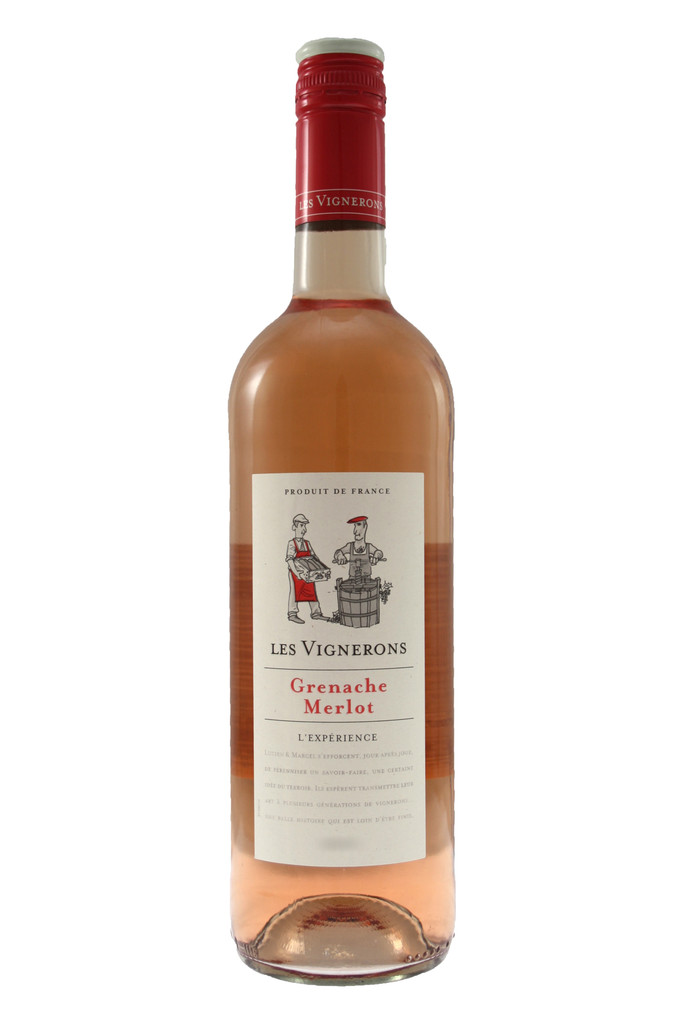 Les Vignerons Grenache Merlot Rose
