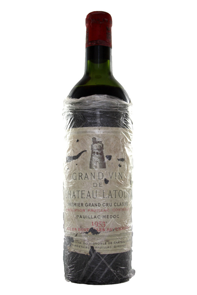 Chateau Latour 1953 Bottle No.1