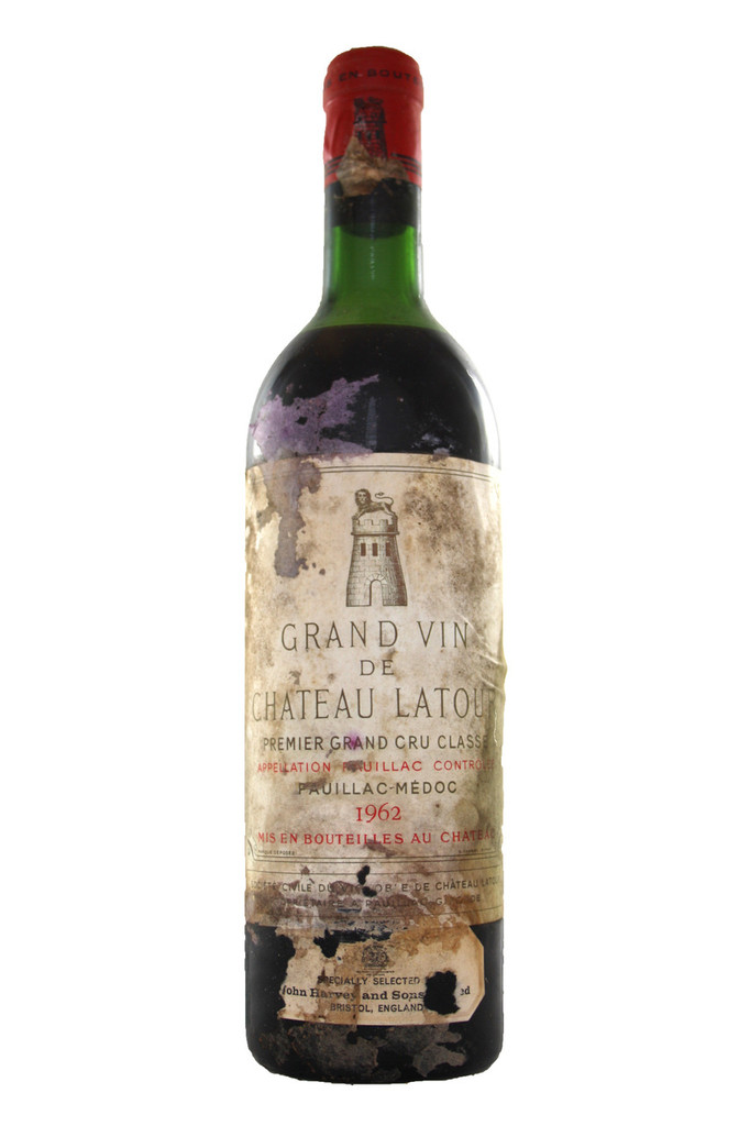 Chateau Latour 1962 Bottle No. 4
