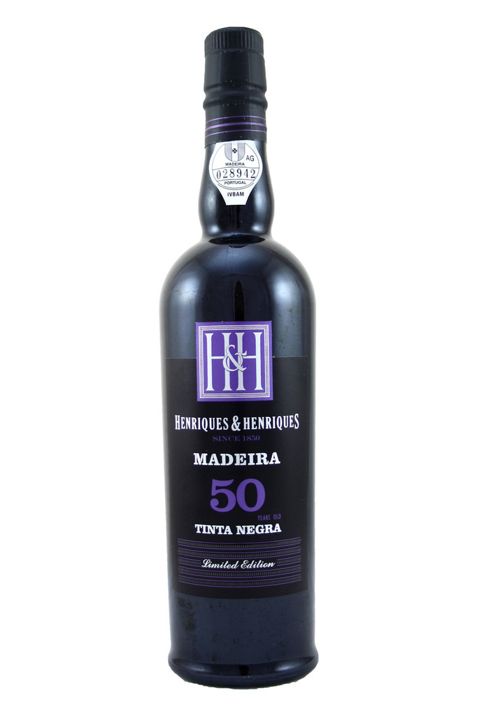 Henriques & Henriques Tinta Negra 50 Year Old Madeira 50cl