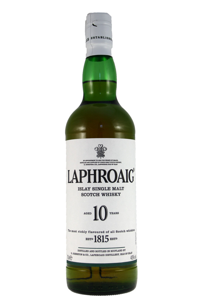 Laphroaig 10 Year Old Islay Malt