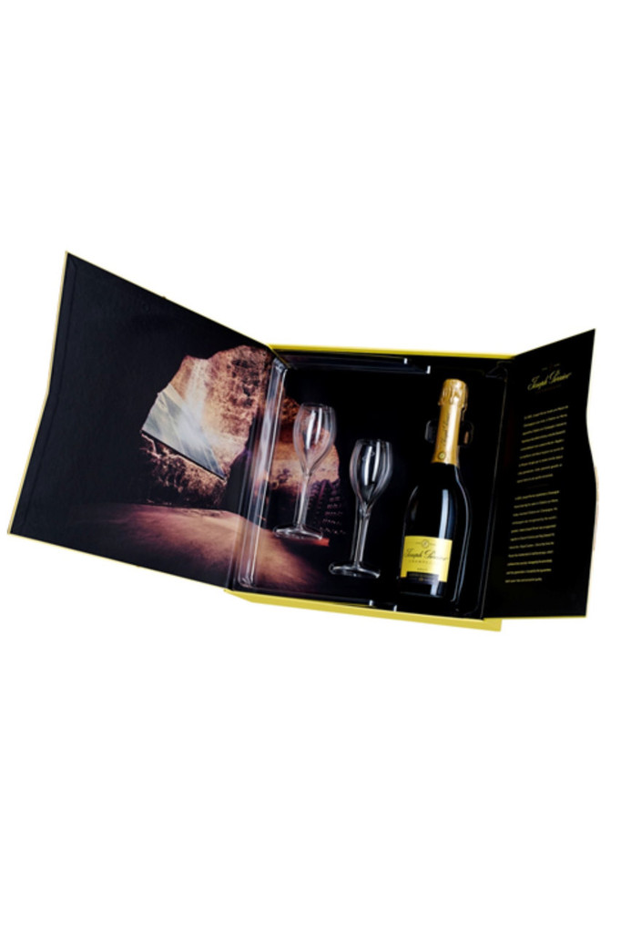 Joseph Perrier Cuvee Royal Champagne Flute Gift Pack