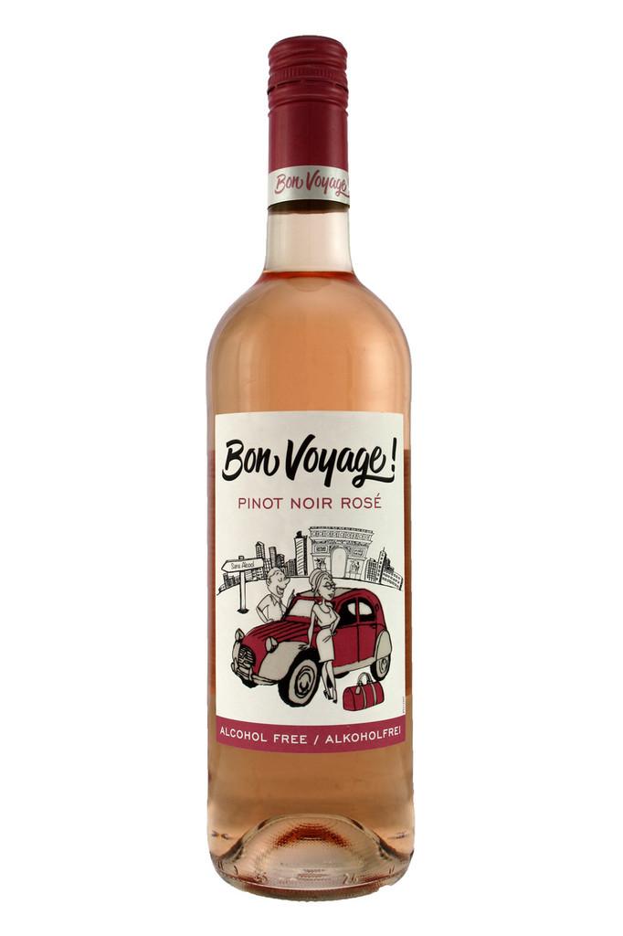 Bon Voyage Pinot Noir Rose Alcohol Free