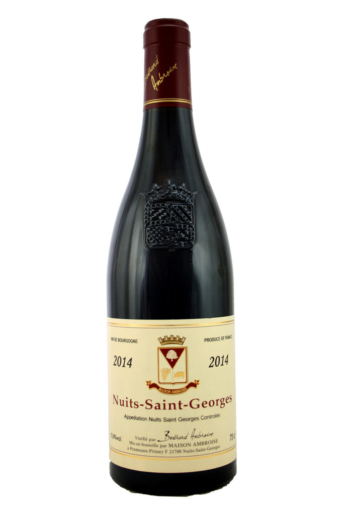 Nuits St Georges Bertrand Ambroise 2014