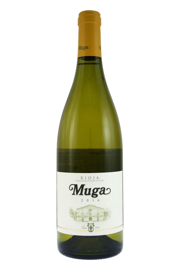 Muga Blanco Barrel Fermented White Rioja 2016